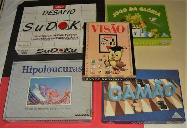 Jogos de TABULEIRO (desde 2,75€/cada)