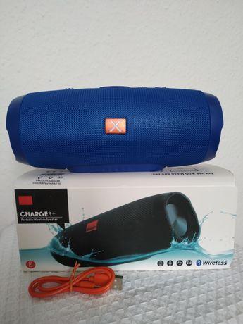 Charge 3+ głośnik bluetooth bezprzewodowy przenośny usb radio sd aux