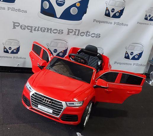 Carro a bateria para crianças Audi Q5 12v Vermelho NOVO