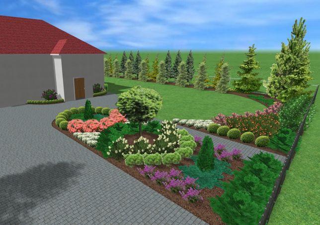 Projektowanie ogrodów, budowa ogrodów – kompleksowo