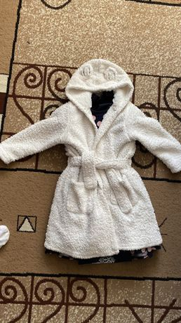 Махровый детский халат