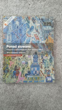 Podręcznik książka do języka polskiego Ponad Słowami klasa 3