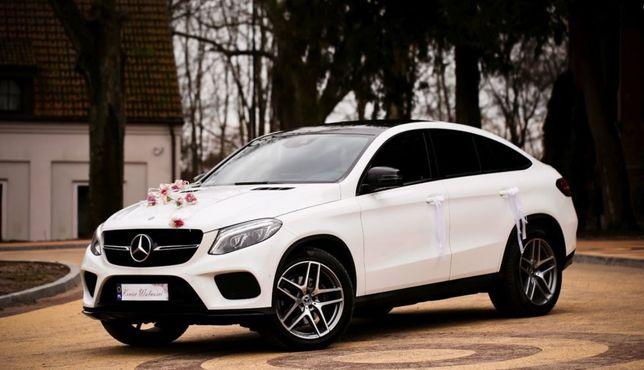 Auto do ślubu Mercedes GLE Coupe amg