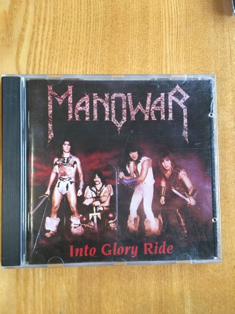 "Фирменный CD MANOWAR ""Into Glory Ride"" (1983)"