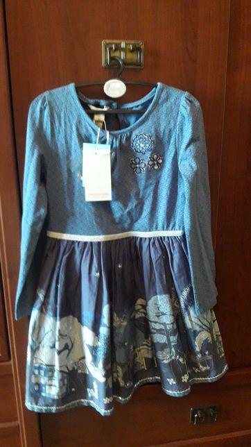Новое красивое платье Monsoon на 7-8 лет