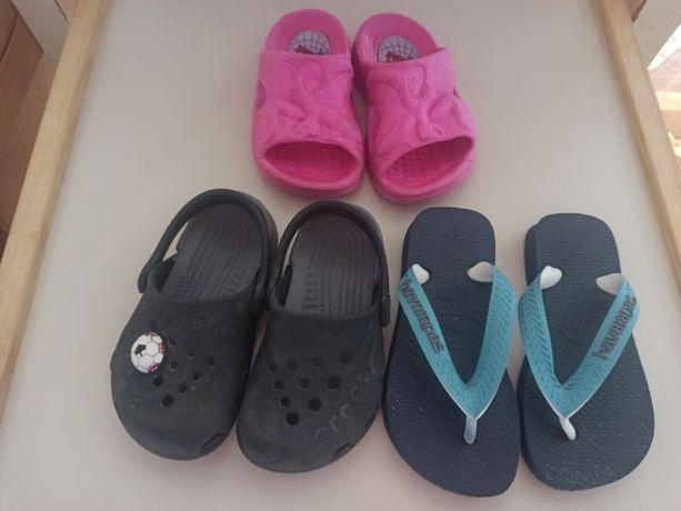 Обувь детская шлёпки