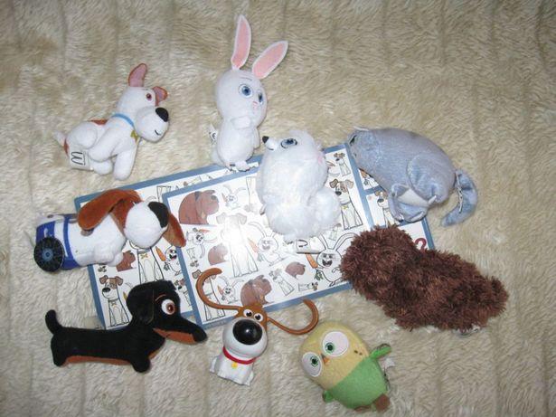 Figurki z Sekretne życie zwierząt domowych - 10szt