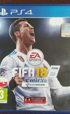 Gry PS4 FIFA 18 i 16