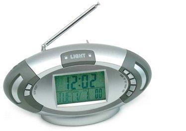 Zegar wielofunkcyjny z termometrem i FM radiem - XK187