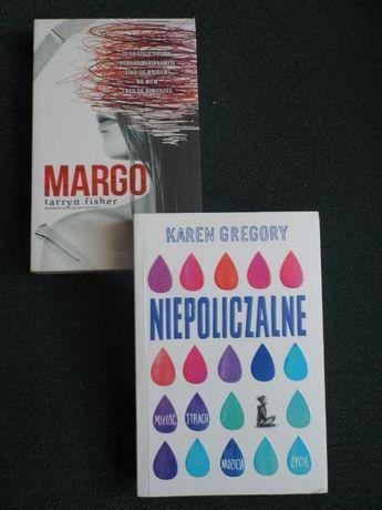 Zestaw dwóch książek młodzieżowych: Margo + Niepoliczalne
