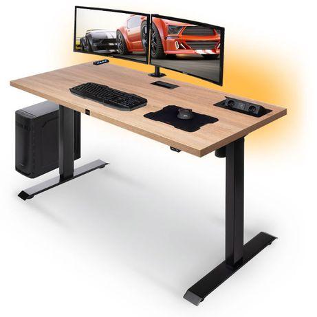 Biurko gamingowe PRO ELECTRO elektryczna regulacja Led USB 3.0 HIT!