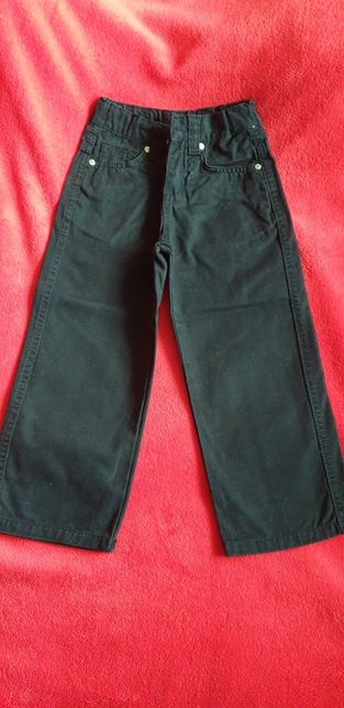 Spodnie dżinsowe czarne r 104
