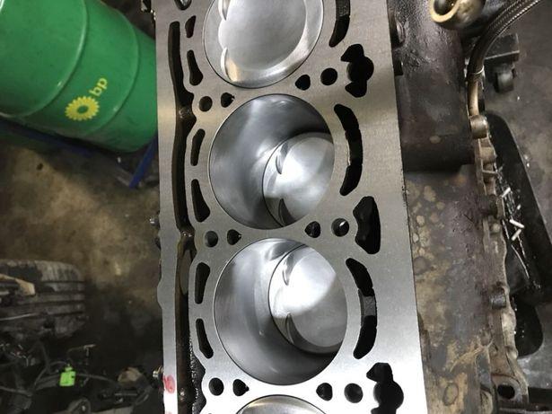 Двигатель 1.8 TSI CDAA  после замены поршневой