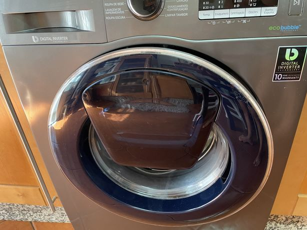 Vendo Porta Maquina Lavar Roupa Samsung Eco Bubble/Digital Inverter