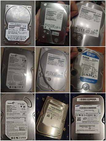 Продам жесткие диски б/у в хорошем состоянии,любые проверки.