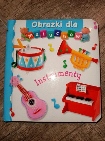 Obrazki dla maluchów Instrumenty