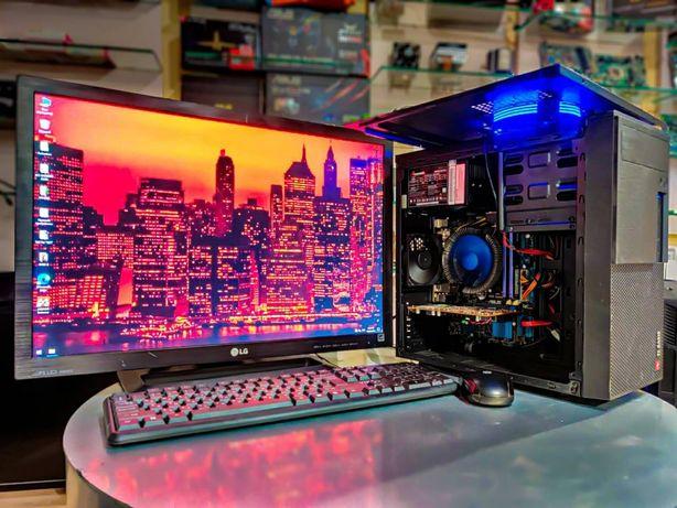 Рабочая станция компьютер ПК для работы Мон. 24 Full HD i5 4570 SSD