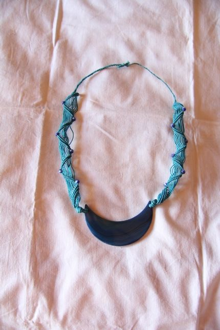 Colar Azul turquesa