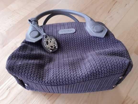 Używana torebka Beverly Hills Polo CLub w kolorze kakaowym