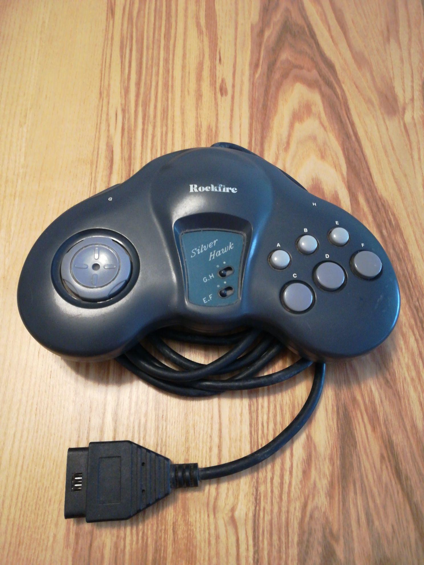 Comando Rockfire Silver Hawk para PC e compatível com várias consolas