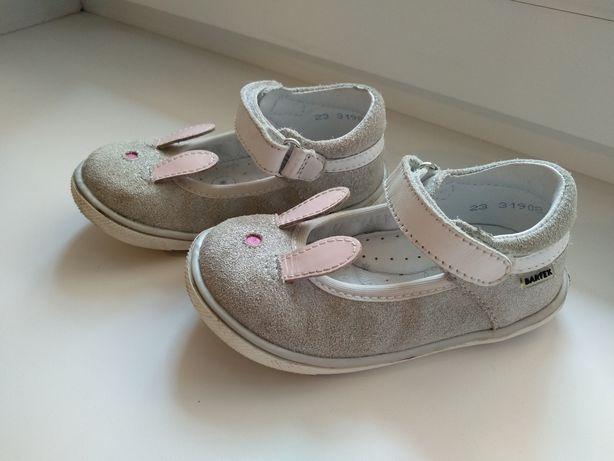 Детские туфли Bartek. Натуральная кожа. Размер 23. Стелька 14,5 см