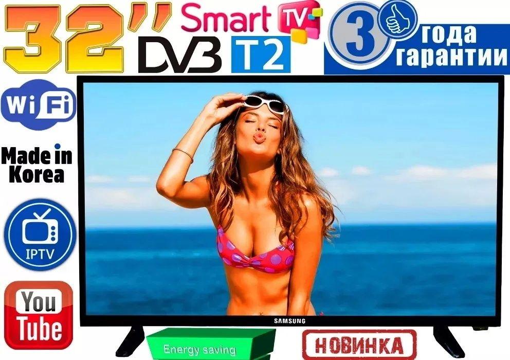 """НОВЫЕ телевизоры Samsung SmartTV Slim 32"""" FullHD,LED, IPTV,T2 КОРЕЯ Запорожье - изображение 1"""