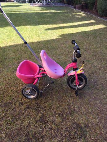 Rower dziecięcy PUKY - trójkołowy, różowy