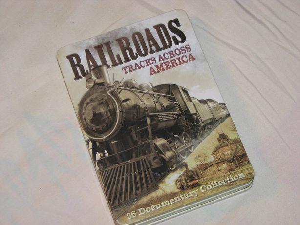 Pociągi Sieć kolejowa Ameryki Railroads Tracks Across America