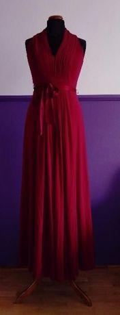 Czerwona suknia rozmiar S/M