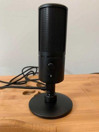 Mikrofon Razer Seiren X Czarny USB 180cm Pojemnościowy Cyfrowy Stream