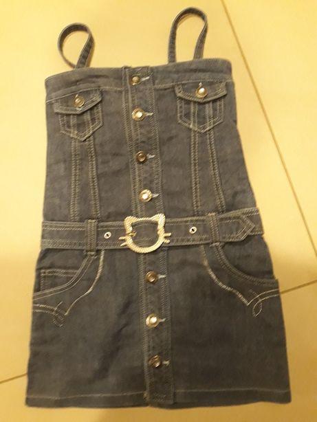 Sukienka jeansowa 98/104