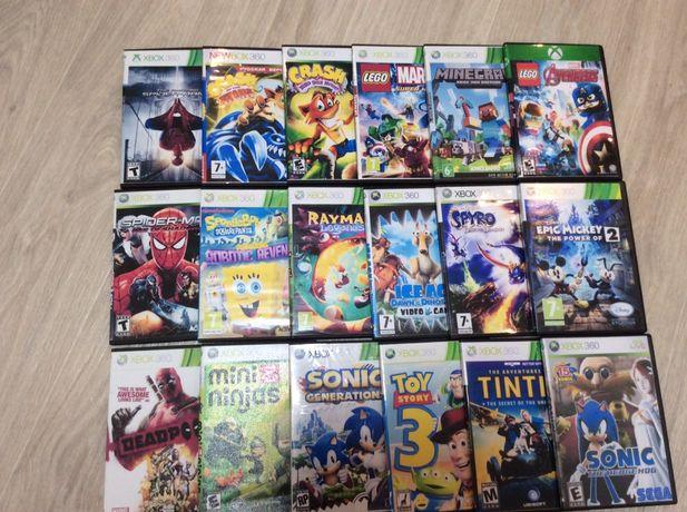 Продам игровые диски на XBOX360 новые(LT3.0/2.0/1.9)+ваши пожелания
