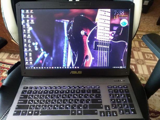 Игровой ноутбук Asus ROG G75VW - 16 RAM+HDD/SSD,CORE I7, GTX670M - 3GB