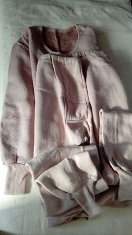 Белье теплое нательное, штаны х/б
