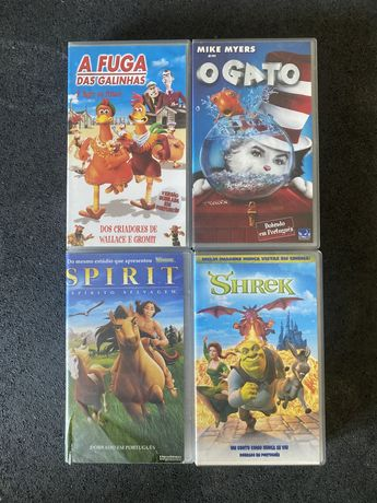 Filmes VHS DreamWorks