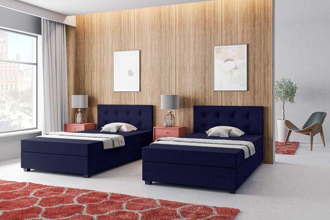 Tapczan jednoosobowy, łóżko hotelowe materac+pojemnik w cenie !