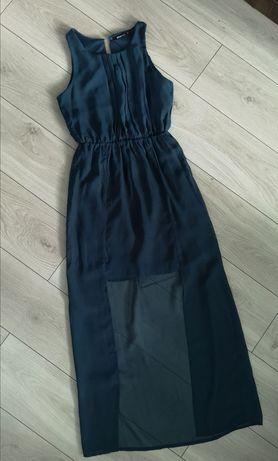 sukienka butelkowa zieleń r. 36
