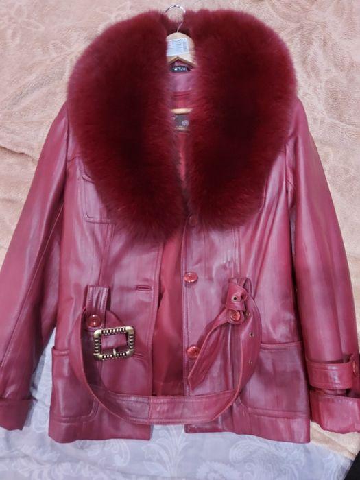 Пальто кожаное Степная - изображение 1