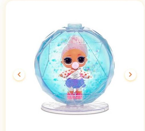 L.O.L. Surprise! Glitter Globe Doll Winter Disco. Оригинал