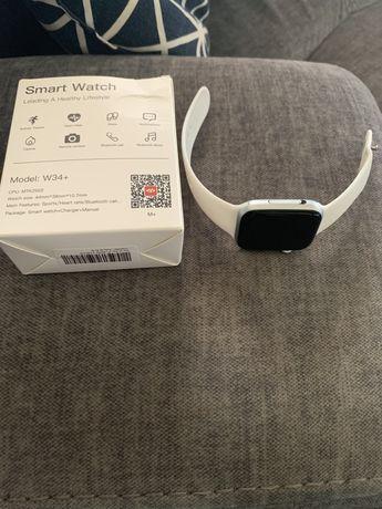 Smart watch bialy nowy