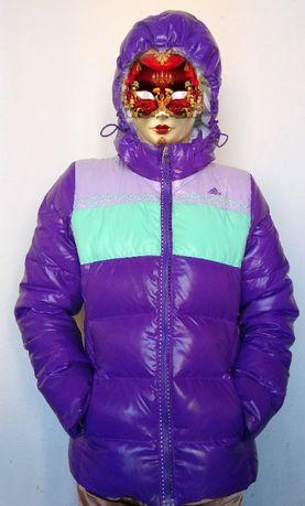 Зимняя куртка женская пуховик женский парка Adidas BENETTON рост 170