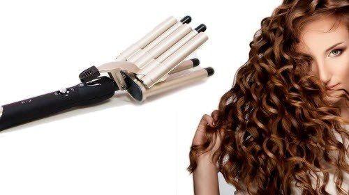 Плойка пять волн для завивки волос щипцы Gemei GM-2933 ,Щипцы