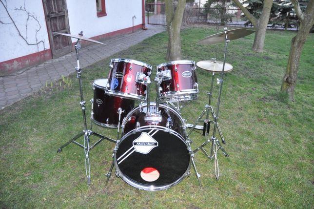Kompletna perkusja z drewna brzozowego!