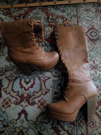 Чоботи, чобітки жіночі