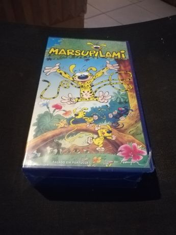 VHS duplo selada Marsupilami