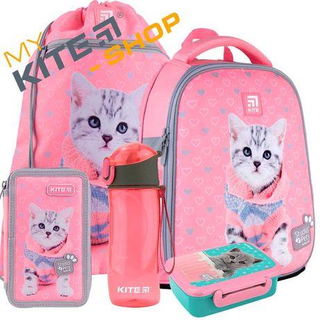 Школьный набор 5в1 Kite Рюкзак Пенал Сумка Для девочки Подарок, Кайт