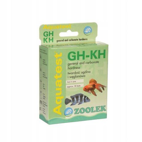 Zoolek Aquatest GH/KH - test na twardość węglanową
