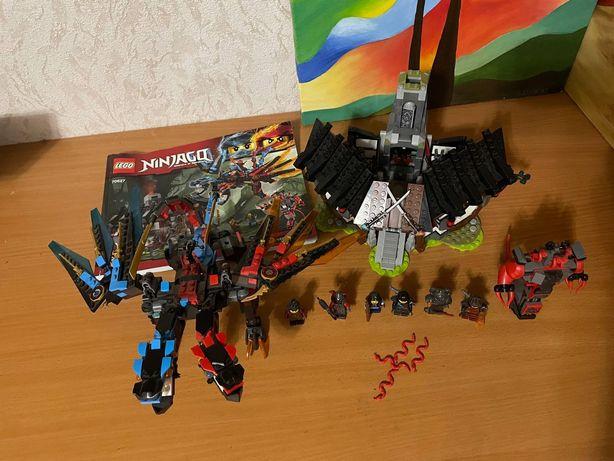 Lego ninjago Кузница дракона 70627