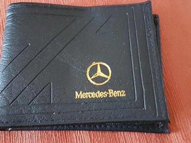 Carteira em pele Mercedes