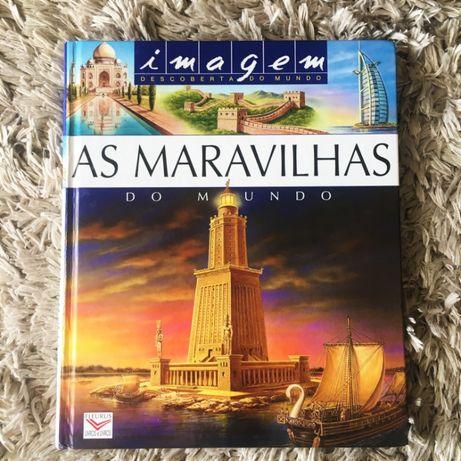 Livro - As Maravilhas Do Mundo, Fleurus 2006